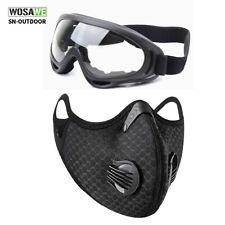 Велоспорт активный отдых спорт очки защитные очки и лицо рот-муфельные с фильтром