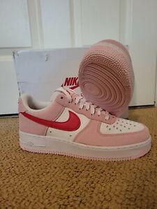 Nike Air Force 1 SZ 9 Men 10.5 Women Valentines Day Love Letter DD3384-600