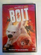 Bolt: Disney; Malcolm McDowell, & Miley Cyrus DVD, 2009 ) New; I Ship Faster