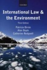 International Law and the Environment, Birnie, Patricia, Boyle, Alan, Redgwell,