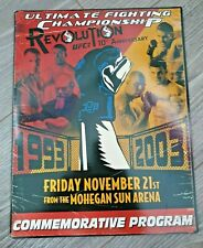 UFC 45 Program Early MMA Souvenir