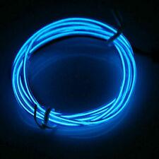 Resplandor de luz LED de neón El Wire tira de Cuerda Cuerda Tubo Decor Party & Controlador Usb