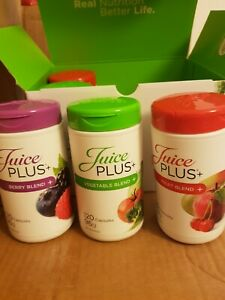 30x Juice Plus capsule fruits x10 Veg x10 Berry x10 in sealable bag New