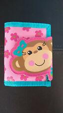 Stephen Joseph Monkey Girl Pink Wallet