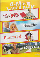 THE JERK / HOUSESITTER / PARENTHOOD / THE LONELY GUY (4-MOVIE LAUGH PACK) (DVD)