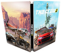 The Crew 2 Steelbook Case PS4 & Xbox One * NEW SEALED * NO GAME