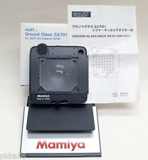 Mamiya RZ PRO IID / PRO II / RZ GROUND GLASS ADAPTER BACK ( SHIFT TILT ADAPTER)