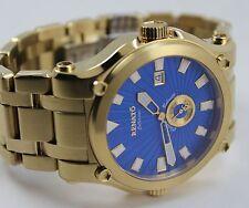 Renato Men's Calibre Robusto Watch, Swiss Ronda 1019, Blue, Hand Made Ltd Prod