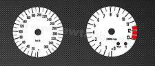Kawasaki ZX 12 R  ZX 12R ZX12R 00 Tachoscheiben Tacho Gauge speedo face dial Set
