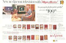 1952 RCA Victor 20 TV Television Victor 20 models PRINT AD