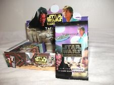 Star Wars CCG Factory Sealed Booster Pack Tatooine Limited