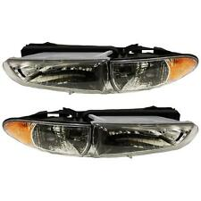 97-03 Pontiac Grand Prix Headlights Headlamps Pair Set Left & Right New