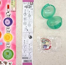 Natsume Yuujinchou Nyanko-Sensei Sweets Strap Ver B Flowers & Cat Face T-ARTS NW