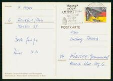 Mayfairstamps GERMANY STATIONERY 1974 POSTCARD MUNSTER TO MUNSTER wwh77671