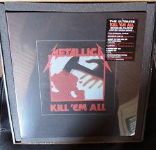 "METALLICA ""Kill 'Em All"" BOX Set 5CD + DVD + 2LP + 12"" sealed US Import"