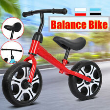 "12"" Kid Balance Training Bike No-Pedal Learn To Ride Pre Push Bicycle No-Pedal"