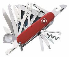 NEW VICTORINOX Swiss Army Knife SwissChamp Champ Red 35763