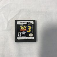Toy Story 3 (Nintendo DS, 2010) Disney Pixar Video Game Only NOT Complete