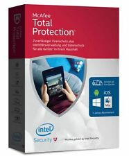 McAfee Total Protection Unlimited bis zu 50 Geräte Box Deutsch Neu
