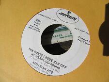"AQUARIAN AGE ""I Can't Grow Flowers In My Yard"" Rare US PROMO 7"" - Mercury 72881"