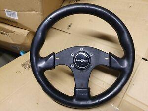 Italvolanti 320mm Retro Leather steering wheel. Type KBA 70174.