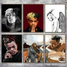 XXXtentacion Poster Rap Hip Hop Singer Artist Canvas Print Wall Art Décor