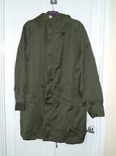 Vintage 1980s French Military Army with liner parka jacket MOD coat khaki