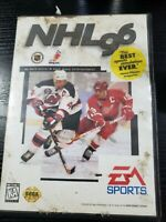 EA Sports NHL '96 Hockey for Sega Genesis - Complete