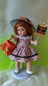 Vogue Ginny Muffie Wendy Ginger 8 inch doll clothes Halloween dress hat outfit