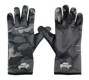 Fox Rage Thermal Camo Gloves / Fishing Clothing