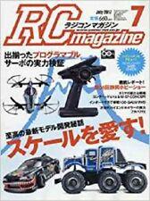 RC magazine 2017 July 7 Japan Book Japanese I Love Scale