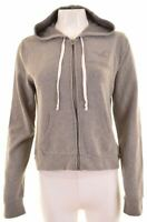 HOLLISTER Womens Hoodie Sweater Size 16 Large Grey Cotton  LN26