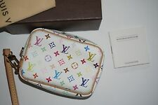 Louis Vuitton Multi Color Wapity Case Takashi Murakami RARE