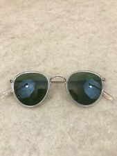 Oliver Peoples OV1104 MP-2 Gold Plated Engraved Sunglasses 48-24