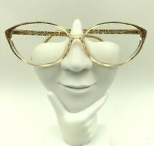 Vintage Silhouette Spx M1848 Brown Transparent Oval Cat Eye Sunglasses Austria