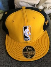LOS ANGELES LAKERS NBA Basketball New Era 5950 Fitted WOOL Hat NWT Size 7-5/8