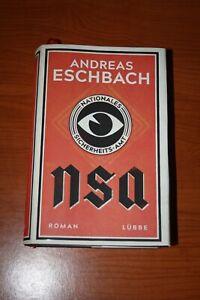 NSA - Nationales Sicherheitsamt - von Andreas Eschbach - gebundene Ausgabe