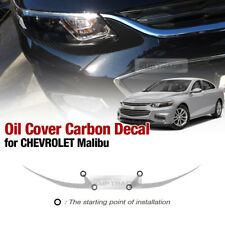 Front Head Eye Line Carbon Skin Decal Sticker For CHEVROLET 2016 - 2018 Malibu