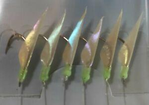 Quality Sabiki Jap Bait Jigs. 10 packs. Yakka, Herring, Slimies. Size 8 hooks