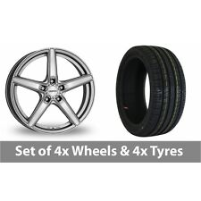 "4 x 18"" Dezent RN Special Offer Alloy Wheel Rims and Tyres -  215/35/18"