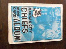 1969 Topps Football Mini-card Album complete - #22 KC Cheifs   HOFers incl
