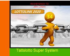 LOTTOLINK TATTSLOTTO lotto oz POWER SYSTEM Lottery software