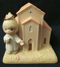 New 2004 Precious Moments Chapel Figurine # 119642 - You Are Always Welcome Here
