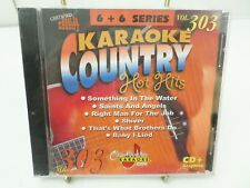 Chartbuster Vol 303 KARAOKE Country hot hits CD+G player needed new sealed