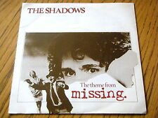 "THE SHADOWS - THE THEME FROM MISSING  7"" VINYL"