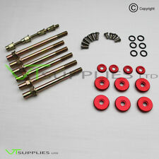 Red Low Profile Valve Cover Washer Kit - Honda Civic Integra DC5 K20 K-Series