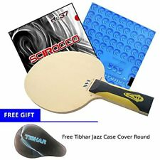 Table Tennis Racket XVT ZL-HINOKI (Zylon-Carbon) + Rubber Kokutaku 868 Spin Air