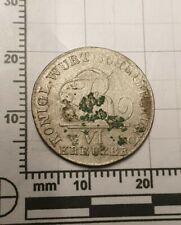 Silber Münze 1807 Bodenfund antik