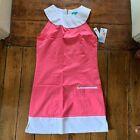 Fairway Fox Kristen Golf Dress Women CoolMax Fabric Pink Size 12