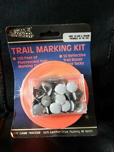 The Game Tracker Trail Marking Kit Fluorescent Tape Tacks New Hunting